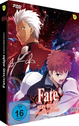 Fate/Stay Night: Unlimited Blade Works - Vol. 4 - Staffel 2.2 (Limited Edition, 2 DVDs)
