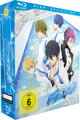 Free! - Vol. 1 - Staffel 1.1 (+ Sammelschuber, Limited Edition)