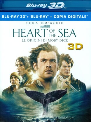 Heart of the Sea - Le origini di Moby Dick (2015) (Blu-ray 3D + Blu-ray)