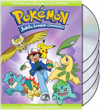 Pokémon - Johto League Champions - The Complete Collection (5 DVDs)