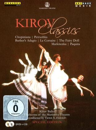 Kirov Ballet, Mariinsky Orchestra, … - Kirov Classics (Arthaus Musik, Special Edition, DVD + CD)