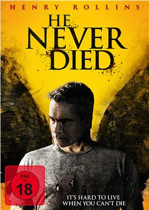 He Never Died (2015) (Limited Edition, Mediabook, Blu-ray + DVD)