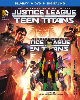 Justice League vs Teen Titans (2016) (Édition Deluxe, Blu-ray + DVD)