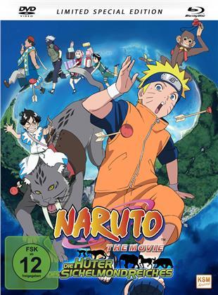 Naruto - Die Hüter des Sichelmondreiches (2006) (Limited Special Edition, Mediabook, Blu-ray + DVD)