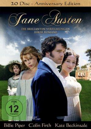 Jane Austen - Die brillanten Verfilmungen ihrer Romane (Anniversary Edition, 20 DVDs)