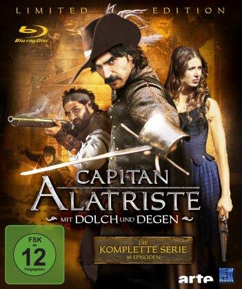 Capitan Alatriste - Mit Dolch und Degen - Die komplette Serie (Limited Edition, 6 Blu-rays)