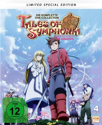 Tales of Symphonia - Die komplette OVA-Collection (Limited Special Edition, Mediabook, 4 Blu-rays)