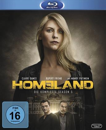 Homeland - Staffel 5 (3 Blu-rays)