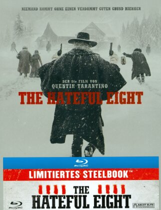 The Hateful Eight (2015) (Schweizer Version, Limited Edition, Steelbook)