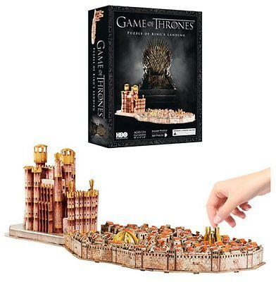 Game of Thrones: King's Landing - 3D Puzzle