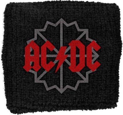 AC/DC Sweatband - Black Ice Logo (Loose)