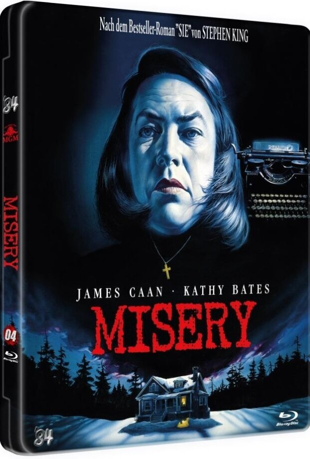 Misery (1990) (MetalPak, Scary Metal Collection, Limited Edition, Uncut)