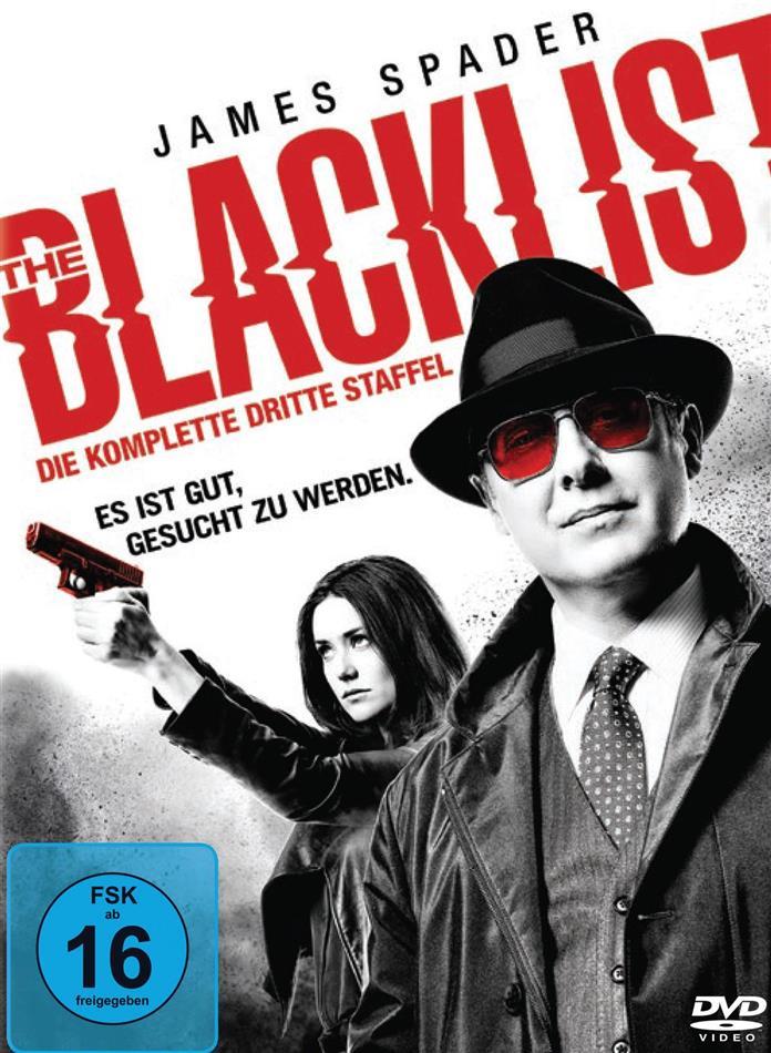 The Blacklist - Staffel 3 (6 DVDs)