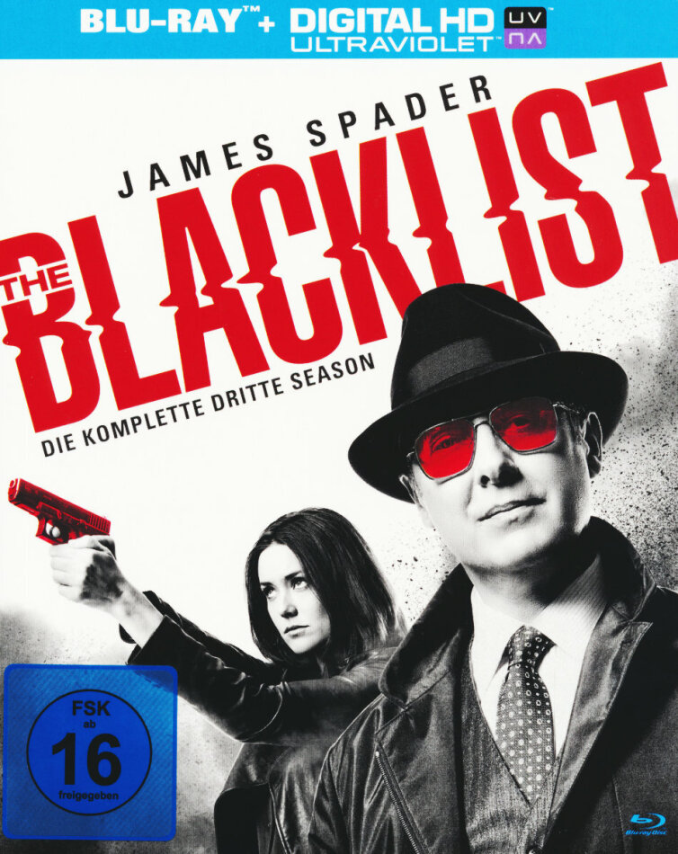The Blacklist - Staffel 3 (6 Blu-rays)