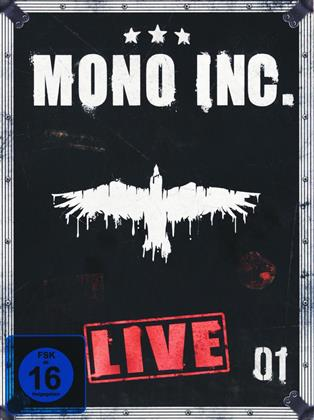 Mono Inc. - Live (Digibook, 2 DVDs)