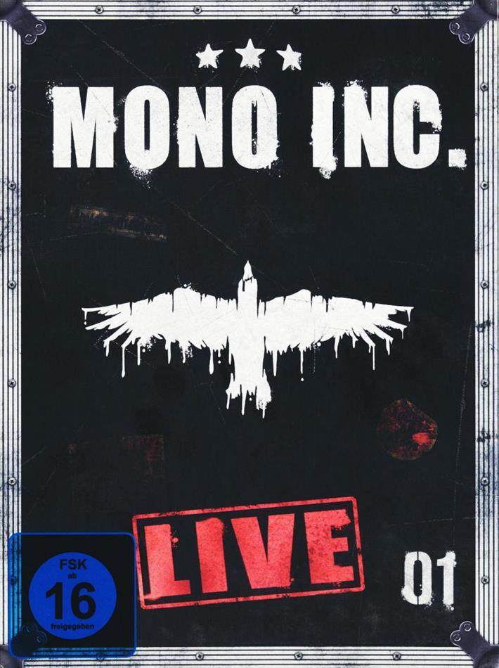 Mono Inc. - Live (Digibook, 2 DVDs)