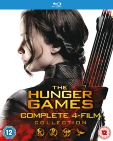 The Hunger Games - Complete 4-Film Collection (4 Blu-rays)