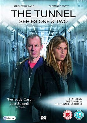 The Tunnel - Season 1 & 2 (4 DVDs)