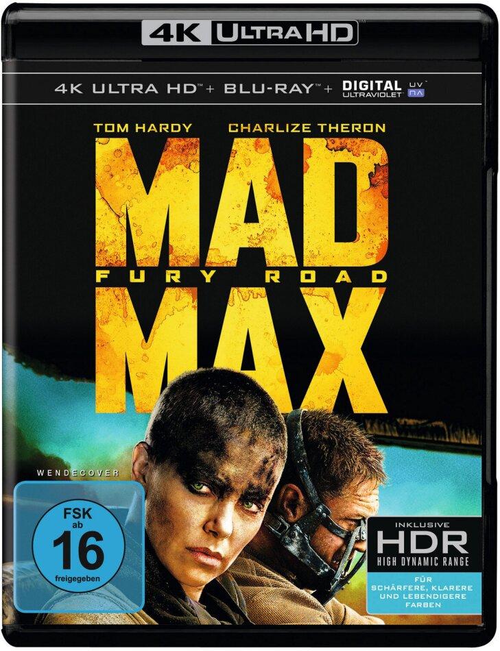 Mad Max - Fury Road (2015) (4K Ultra HD + Blu-ray)