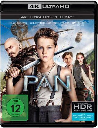 Pan (2015) (4K Ultra HD + Blu-ray)