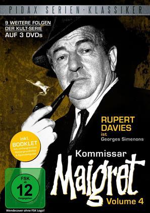 Kommissar Maigret - Volume 4 (Pidax Serien-Klassiker, s/w, 3 DVDs)