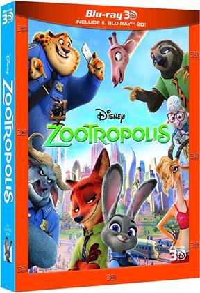 Zootropolis (2016) (Blu-ray 3D + Blu-ray)