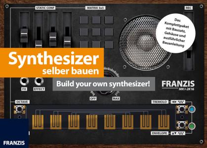 Synthesizer selbst gebaut - Bausatz