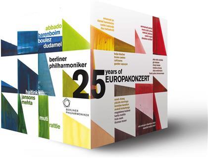 Berliner Philharmoniker, … - 15 Years European Concert 1991-2015 (Euro Arts, 25 DVDs)