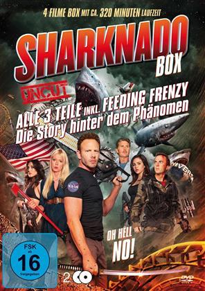 Sharknado 1-3 (Uncut, 2 DVDs)