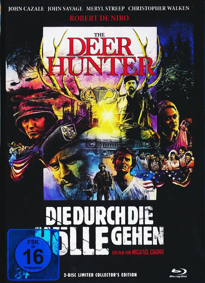 Die durch die Hölle gehen (1978) (Cover C, Collector's Edition, Limited Edition, Mediabook, Blu-ray + DVD)