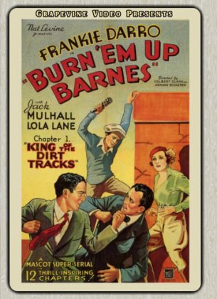 Burn Em Up Barnes (1934) (1934) (s/w, 2 DVDs)