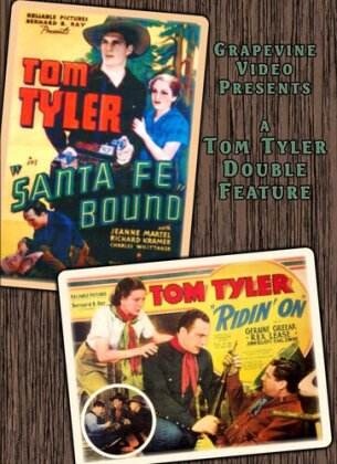 Santa Fe Bound (1936) / Ridin On (1936) (s/w, Double Feature)