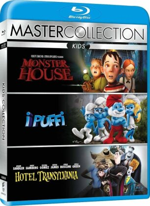 Kids Collection - Monster House / I Puffi / Hotel Transylvania (Master Collection, 3 Blu-ray)