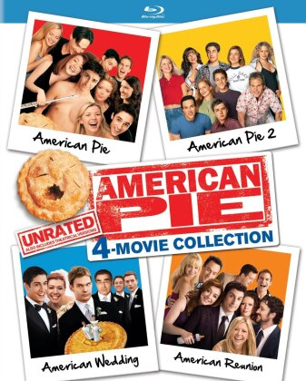 American Pie - 4-Movie Collection (Unrated, 4 Blu-ray)