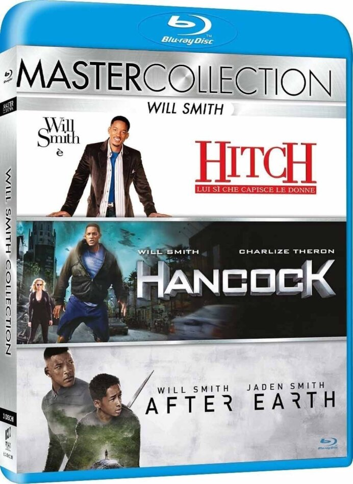 Hollywood Star Collection - Hitch / Hancock / After Earth (Master Collection, 3 Blu-rays)