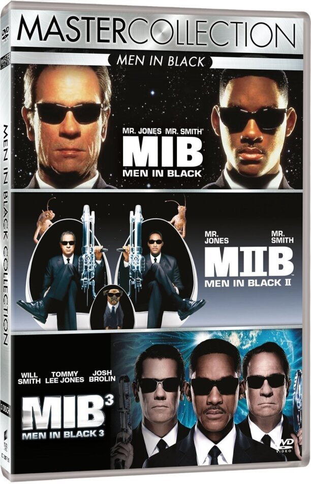 Men in Black 1-3 (Master Collection, 3 DVD)