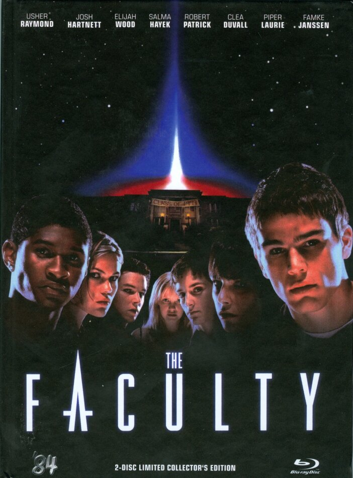 The Faculty (1998) (Cover B, Collector's Edition, Limited Edition, Mediabook, Blu-ray + DVD)