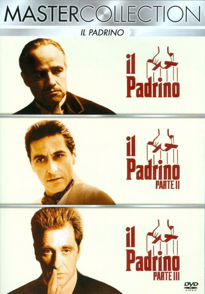 Il Padrino Collection (Master Collection, 3 DVDs)