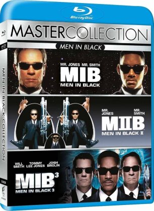 Men in Black 1-3 (Master Collection, 3 Blu-rays)