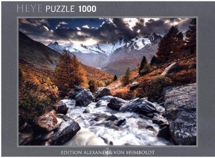 Alexander von Humboldt: Mountain Stream - Puzzle
