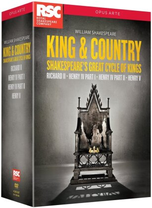 King & Country - Shakespeare's Great Cycle of Kings (Opus Arte, Box, 4 DVDs) - Royal Shakespeare Company