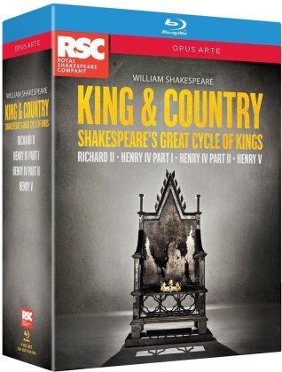 King & Country - Cycle of Kings (Opus Arte, Box, 4 Blu-rays) - Royal Shakespeare Company