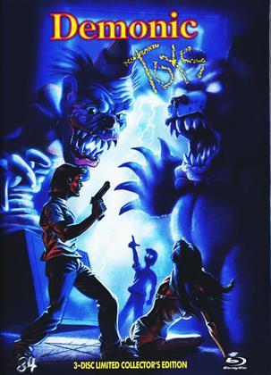 Demonic Toys (1992) (Cover C, Collector's Edition, Director's Cut, Limited Edition, Mediabook, Blu-ray + 2 DVDs)