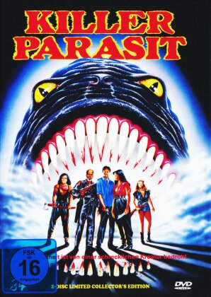 Killerparasit (1982) (Cover A, Uncut, Limited Collector's Edition, Mediabook, 2 DVDs)