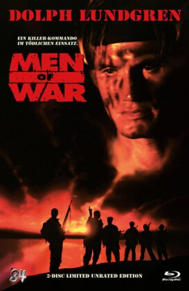 Men of War (1994) (Limited Unrated Edition, Cover B, Hartbox, Blu-ray + DVD)