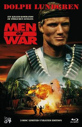 Men of War (1994) (Limited Unrated Edition, Cover A, Hartbox, Blu-ray + DVD)