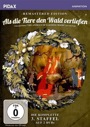 Als die Tiere den Wald verliessen - Staffel 3 (Pidax Animation, Remastered, 2 DVDs)