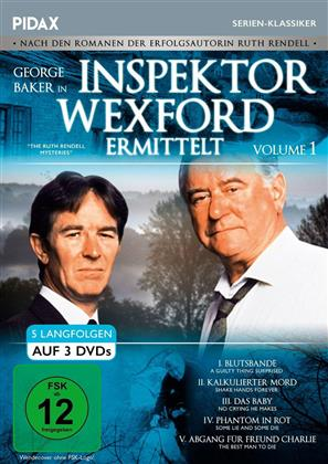 Inspektor Wexford ermittelt - Volume 1 (Pidax Serien-Klassiker, 3 DVDs)