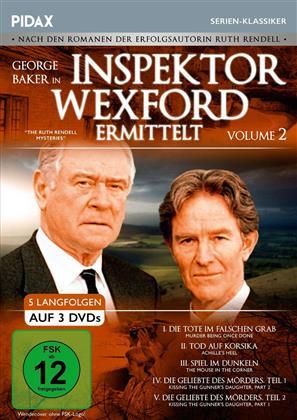 Inspektor Wexford ermittelt - Volume 2 (Pidax Serien-Klassiker, 3 DVDs)