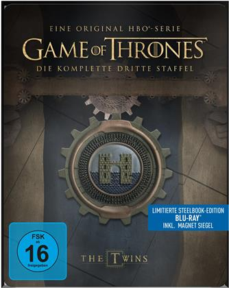 Game of Thrones - Staffel 3 (inkl. Magnet Siegel, Limited Edition, Steelbook, 5 Blu-rays)